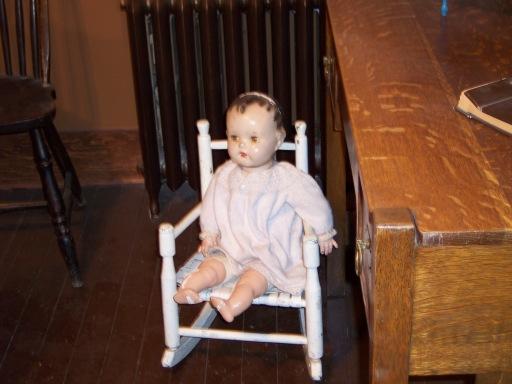 Creepy Doll in Firkins House
