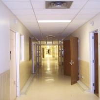 Hallways were in good condition