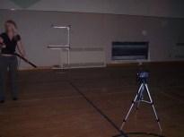 Gymnasium where unhappy aboriginal spirits reside