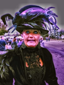 Ingrid at one of the Hearse events
