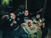Volunteers at Deadmonton Haunted House